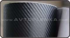 Пленка под карбон 3D LG Printing Film Чёрная