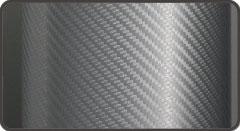 Пленка под Карбон 3D Orajet серебро