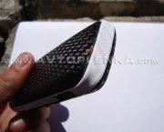 Samsung E1080 в белой и чёрной плёнке под карбон 3D