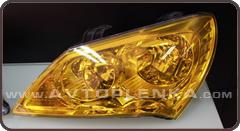 Желтая для оптики авто КК