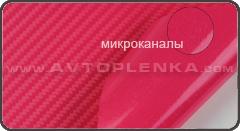 Пленка под Карбон 3D Orajet Розовый