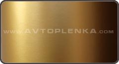 Золотая матовая пленка Orajet с микроканалами
