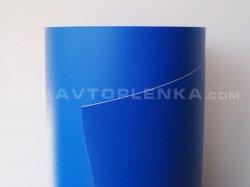 Структурная синяя матовая пленка для авто