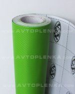 Пленка под Карбон 3D TR-1 Зеленый