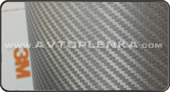 Пленка под Карбон 3D Carbon 3М Графит Di-Noc CA-420