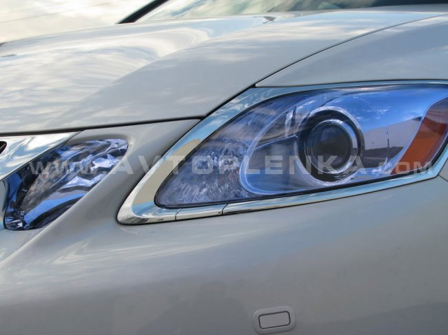 Пленка для защиты и тонирования фар авто