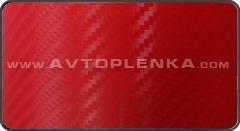 Пленка под Карбон 3D Orajet Красный