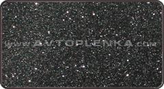 Черная матовая пленка Алмазная Крошка Luxon