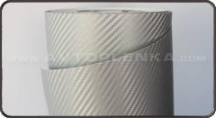 Пленка под Карбон 3D Luxon Серый