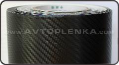 Пленка под Карбон 3D CATPIANO чёрный