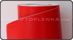 Красная структурная матовая пленка Orajet