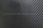 Черная глянцевая пленка под карбон 4D Luxon