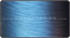 Пленка под шлифованный синий алюминий 3D Luxon™