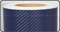 Пленка под Карбон 3D TR-1 Синий