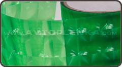 Салатовая тонировка для фар 4D
