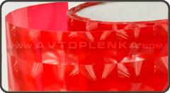 Красная тонировка для фар 4D