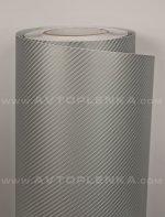 Серый 4D карбон под лаком Catpiano