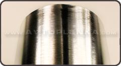 Пленка под шлифованный хром алюминий 3D Luxon™