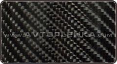 Пленка 4D карбон под лаком (крупное зерно) Orajet