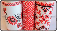 Наклейка на авто вышиванка купить в Украине