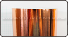 Пленка под металл хром бронза 3D Luxon™