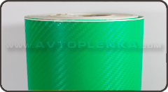 Пленка под Карбон 3D Orajet Зеленый