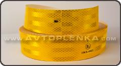 Желтая светоотражающая лента 3М (конт. маркировка)