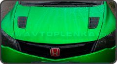 Зеленый матовый хром Luxon