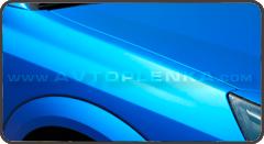 Синий матовый хром Luxon