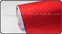 Самоклеющаяся замша (алькантара) Красный