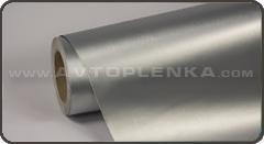 Пленка под неполированный металл сатин Luxon Серый