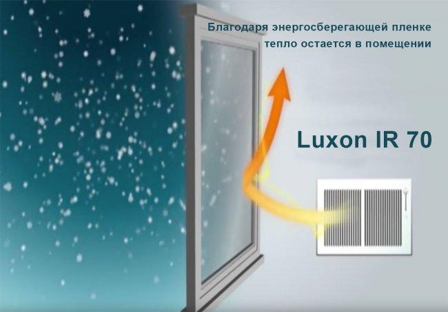 Энергосберегающая оконная пленка Luxon IR 70