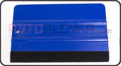 Ракель BIG комбинированный синий c черной накладкой