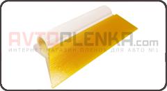 Выгонка полиуретановая трапециевидная жёлтая