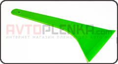 Скребок 3М Boss зелёный