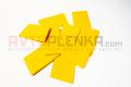 Мини скребок желтый Stickers