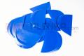 Пластиковый синий скребок Round твердый