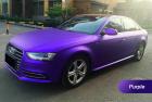 Фиолетовый матовый хром Luxon