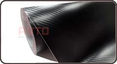Черный карбон 3D Unicast 7130
