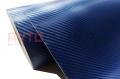 Пленка под Карбон 3D Catpiano Синий Мелкое зерно