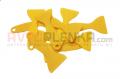 Скребок лопатка желтая